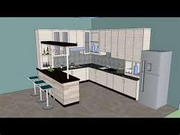 Sketchup Kitchen Design Impressive Image Gallery Sketchup Kitchen Sketchup Kitchen Design White House