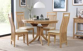 gallery hudson round extending dining table and 4 bali chairs set