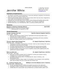 Nursing Student Resume Sample Nursing Student Resume Examples