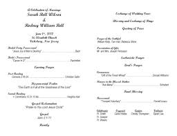 sample wedding ceremony program nice wedding ceremony program template pictures wedding post