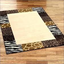 leopard print rug s leopard print area rugs