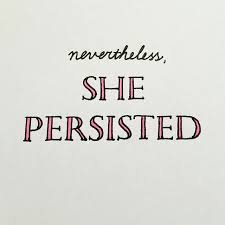 Persistence Perseverance And Patiencethe Three Ps Feminist