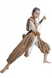 cosplay costume if you want to dress up like rey from star wars for or
