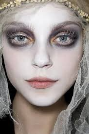 corpse bride makeup creepy but ethereal