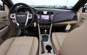 chrysler 200 2013 interior. 2013 chrysler 200 limited convertible interior