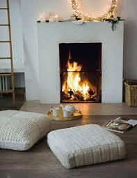 Small Fireplace In Villa Stock Photo  Image 48873642Small Fireplace