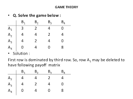 Q And A Game Game Theory