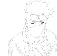 Small Picture Naruto 523 Kakashi Lineart by romigd13 on DeviantArt