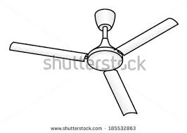 fan clipart black and white. a domestic ceiling fan. fan clipart black and white n