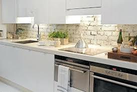 rustic white kitchen ideas. Brilliant White Rustic Backsplash Ideas Brick White Kitchen  Cabinet Images To E