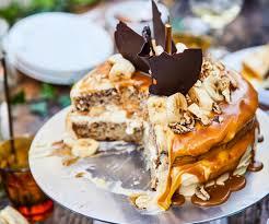 Banoffee Birthday Party Cake Nadia Lim