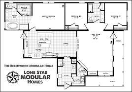 ranch style modular home floor plans modern home plans