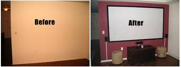 wall paint projector diy projector screens part i paint your own projection screen canvas for projector screen silver paint