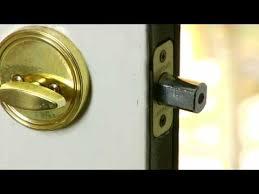 Home Improvement Repair Tips How to Fix Door Locks YouTube