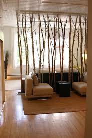 Bäume Als Raumtrenner Natur Im Wohnzimmer Raumteiler