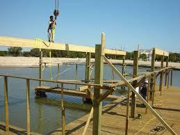 dock in construction