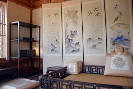 traditional korean furniture. Contemporary Furniture The Womenu0027s Quarters Of The Noblemanu0027s House At Korea Furniture Museum  Has Best View In This Case Window Looks Out Toward A Sloping Hill And  For Traditional Korean