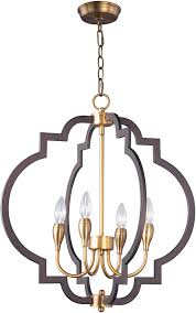 maxim 20293oiab crest oil rubbed bronze and antique brass mini chandelier light loading zoom