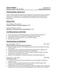 Resume Objective Examples For College Students Hotwiresite Com