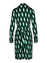 Diane Von Furstenberg Long Sleeve Wrap Dress