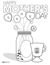 Show mom, grandma and nana how much they mean with printable coloring pages you can decorate just for them. Printable Mother S Day Coloring Pages So Cute They Count As Gifts Sheknows