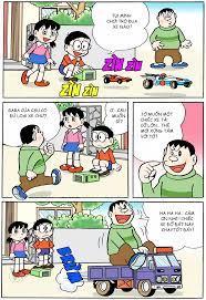 Truyện Tranh Doremon Màu - Tập 6 - Chương 5: Gara Ôtô mini