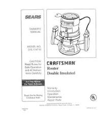 315 174710 craftsman router double insulated Craftsman 315 Rouer Wiring Diagram Craftsman 315 Rouer Wiring Diagram #48