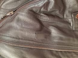 can anyone suggest leather repair options