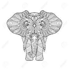 25 Ontwerp Olifant Volwassenen Kleurplaat Mandala Kleurplaat Voor