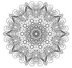 Advanced Mandala Coloring Pages Pdf Coloring Pages Mandala Adult