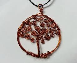 picture of diy tree of life pendant