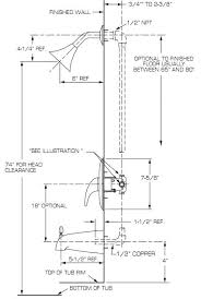 corner shower stall dimensions. Standard Shower Stall Dimensions Head Height Bedroom Furniture Corner
