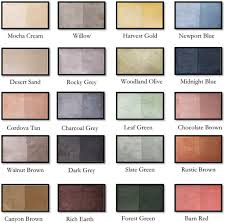 Concrete Sealer Color Chart Concrete Stain Sealer Waterproof Eco Safe