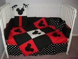 mickey mouse crib sheet set adorable new mickey mouse crib bedding set w polka dot fabrics