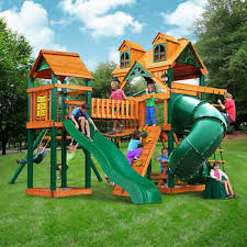 Gorilla Playsets Wilderness Gym Playset - Installed