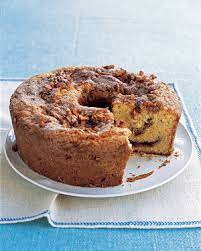 It can be breakfast as much as dessert, and everyone is happy with this moist and delicious version. Sour Cream Coffee Cake Recipe Martha Stewart