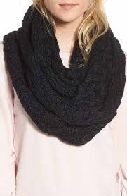infinity scarves. treasure \u0026 bond solid chunky knit infinity scarf scarves