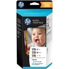 <b>Набор цветных картриджей HP</b> 178 CB318HE, CB319HE ...