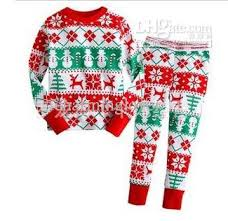 New Christmas Sleepwear Boys Suit Long Sleeve Pajamas Suit Baby ...