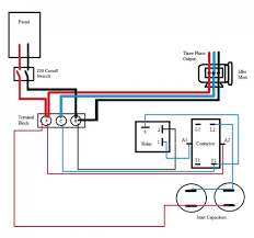 single phase capacitor start run motor wiring diagram gooddy org capacitor start capacitor run induction motor pdf at Capacitor Start Run Motor Wiring Diagram