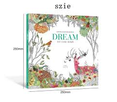 dream coloring book secret garden style coloring book for relieve stress kill time graffiti painting drawing