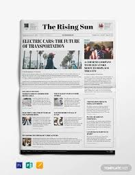 How To Make A Newspaper Template On Microsoft Word Free 53 Amazing Newspaper Templates In Pdf Ppt Word Psd