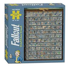 Usaopoly Pz110 475 Fallout Perk Poster Puzzle Multicolor