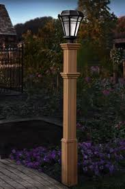 diy wood lamp post lamps inspire ideas outdoor wooden lanterns