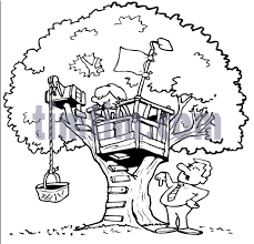 how to draw a treehouse step by step. Interesting Draw 485x465 How To Draw A Treehouse Step By Make Kids Toys Intended How To Draw A Treehouse Step By