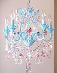 fake chandelier