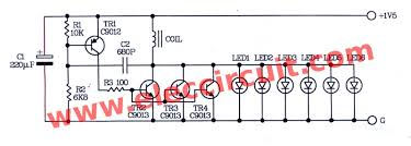 high power led flashlight circuit 1 5v aa battery circuit diagram of high power 6 led flashlight for 1 5 aa battery