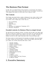 Business Proposal Templates Examples Plan Sample Of Format Pdf ...