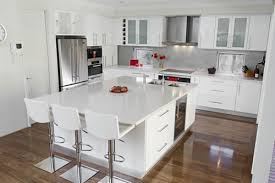 white modern kitchen ideas. Modern White And Wood Kitchen Cabinets Ideas With C