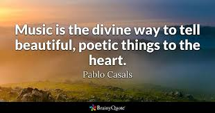 Quotes About Music Amazing Music Is The Divine Way To Tell Beautiful Poetic Things To The